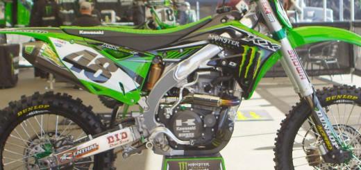 【頑張れ ハーン!】Factory Monster Energy Kawasaki KX450F W・ハーン号