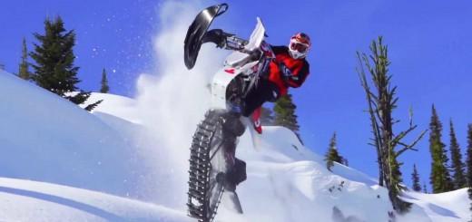 【スノーモトクロス?】注目度急上昇「スノーバイキング」