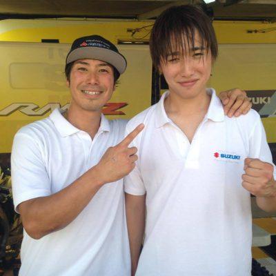 IA1予選2位小島庸平選手とIA2予選B組2位の竹中純矢選手