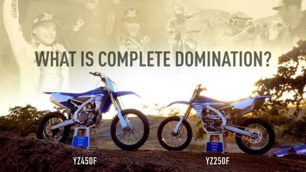 これぞレーサーCM! 2017 Yamaha YZ's: Complete Domination