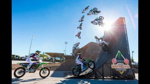 ダートシャークビデオ:モンスターエナジーカップ併催FMX High Rollers Contest
