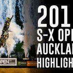 レースビデオ&リザルト|2019 ニュージーランド「S-X Open オークランド」スーパークロス