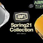 2021 SPモデルデリバリー開始|USシェア No. 1 ゴーグルブランド「100%」最新コレクション